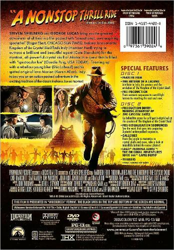 |Indiana Jones FREE DVD Special Edition