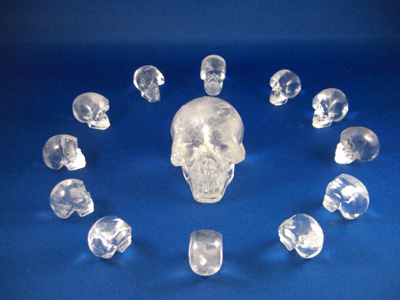 Crystal Skulls Symbolism Each Crystal Skull is Approx
