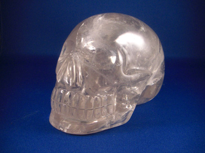 real crystal skulls