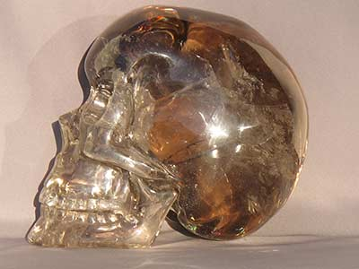 Movable Jaw Crystal SKull