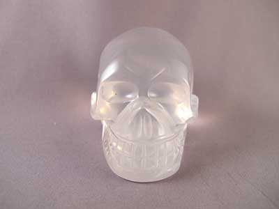 rAINBOW qUARTZ cRYSTAL sKULL