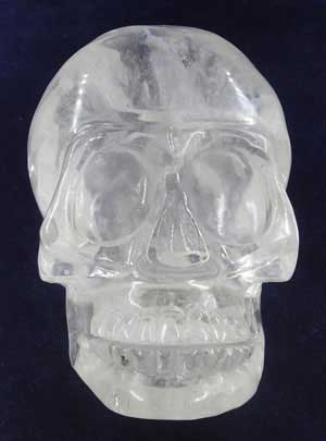 Clouds Crystal Skull