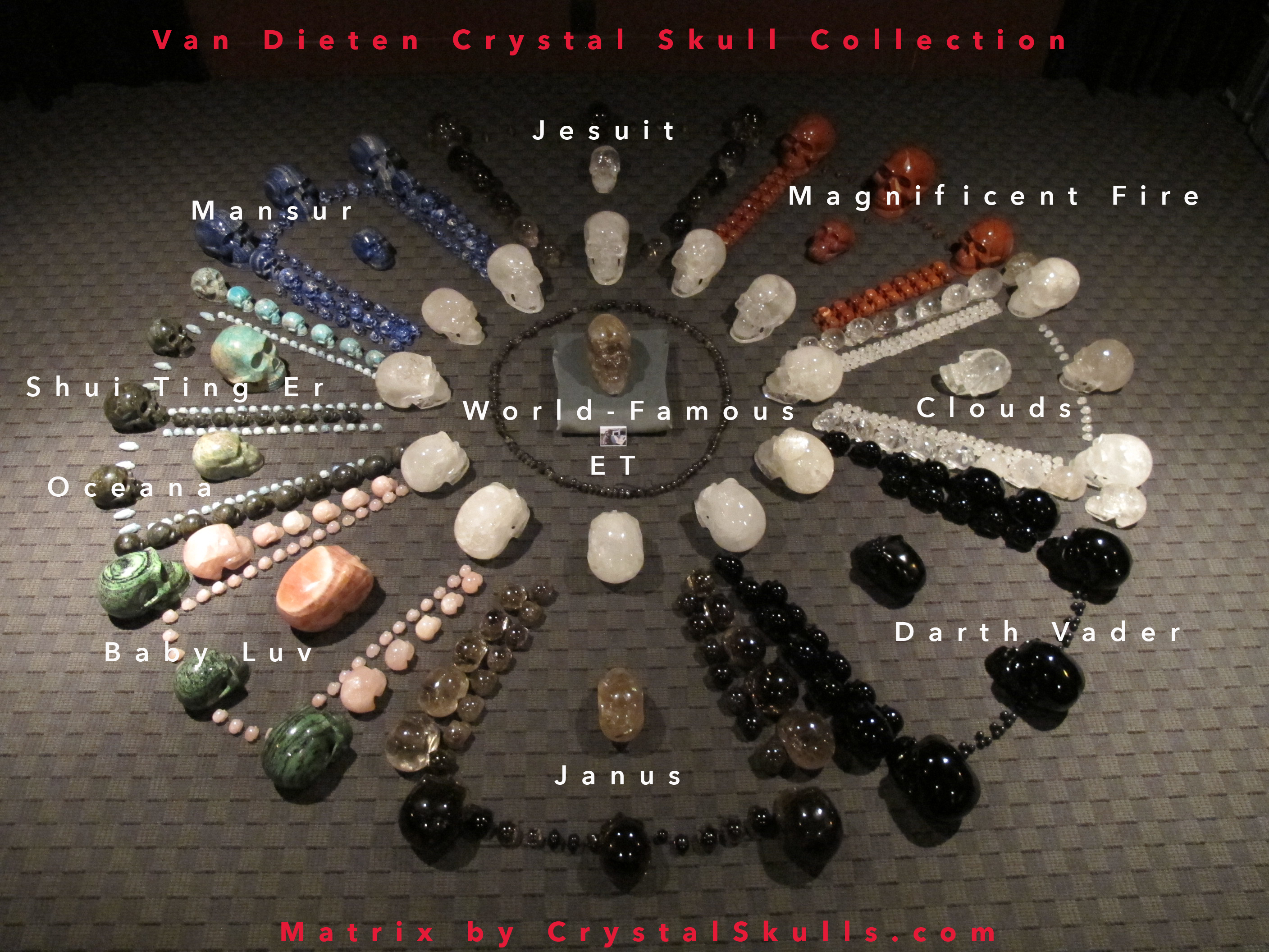 Specially activated crystal skulls in a special activation that took place over several days a select group of crystal skulls were energized with the ancient crystal skull et and the van fandeluxe Choice Image