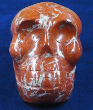 Magnificent Fire Crystal Skull
