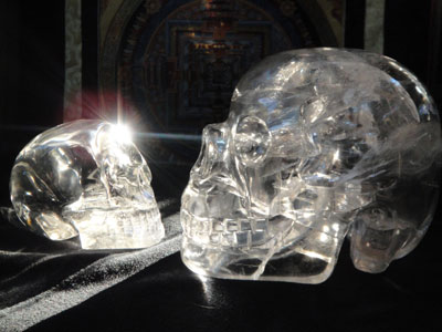 ascension crystal skulls