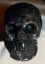 Real photo Amethyst Crystal Skull AMI